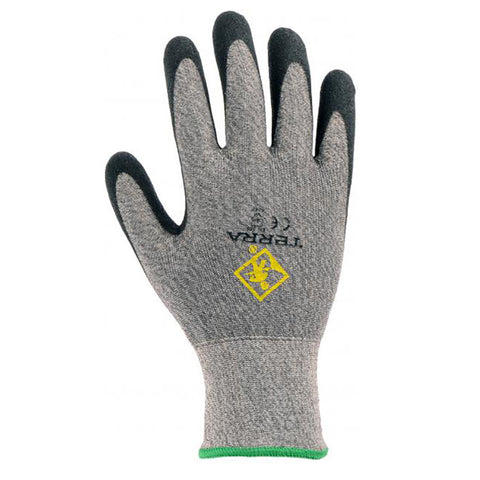 Terra Nitrile Dipped on HPPE Cut Resistant Glove Level 3