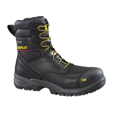 "CAT Dynamo Men's 8"" Composite Toe Insulated Work Boot P717367 - Black"