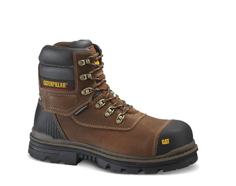 "CAT 6"" Adhesion Ice Men's Waterproof Composite Toe Winter Work Boot With Vibram Arctic Grip"