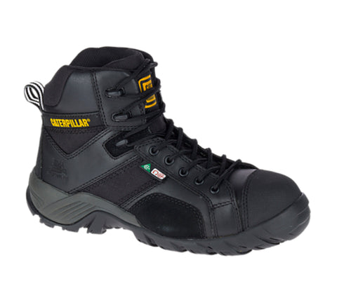 CAT Argon Hi Women's Composite Toe Safety Boot - BLACK