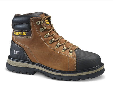 "CAT Foxfield Men's 6"" Steel Toe CSA Work Boot"