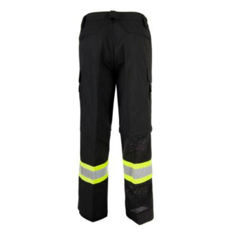 CoolWorks CW2 Hi-Vis Men's Ventilated Cargo Work Pants - Black