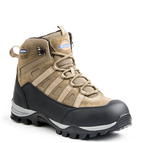 Dickies Escape Men's Lightweight Hiker Steel Toe Safety Boots - Brown