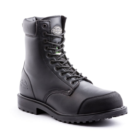 "Dickies Walker 8"" Men's Steel Toe Work Safety Boot"