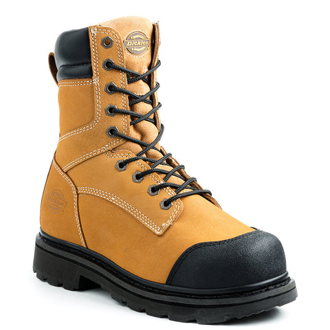"Dickies Forge Men's 8"" Steel Toe Work Boot - Tan"