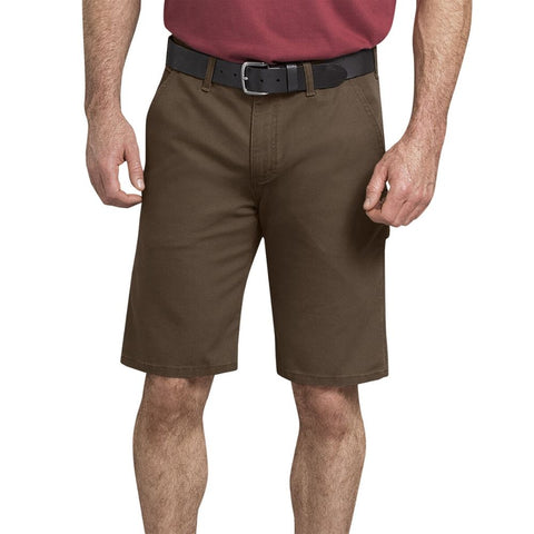 "Dickies 11"" Tough Max™ Men's Duck Carpenter Work Shorts DX802 - Brown"
