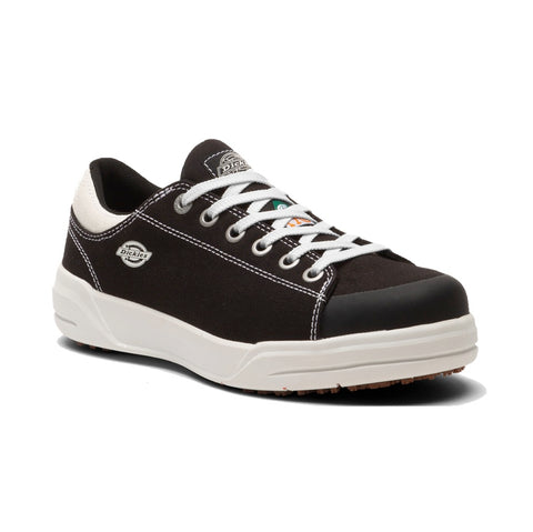 Dickies Supa Dupa Women's Low Steel Toe Athletic Shoe - Jet Black