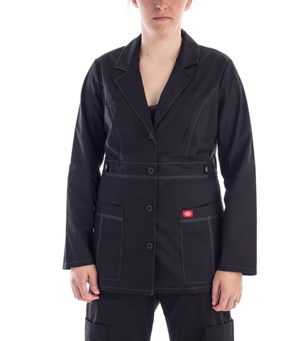 Dickies Youtility Women's Lab Coat - black