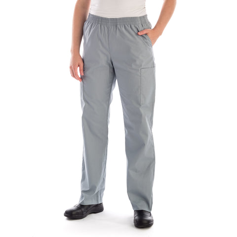 Dickies Pull On/Elastic Waist Pant in grey