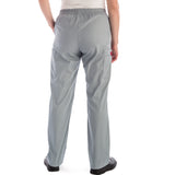 Dickies Pull On/Elastic Waist Women's Scrubs Pants - Petite in grey