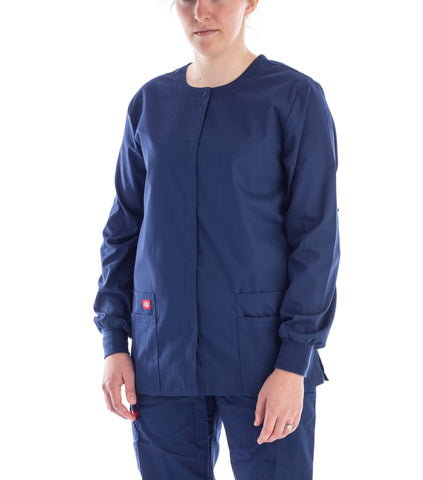 Dickies Snap Front Warm-Up Jacket