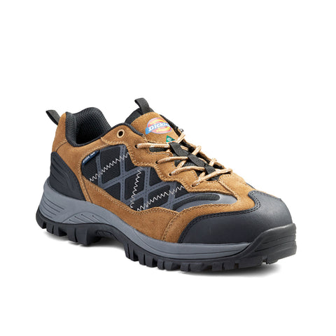 Dickies Frontier Trail Men's Steel Toe Shoe - Brown