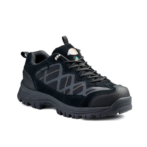 Dickies Frontier Trail Men's Steel Toe Shoe - Black