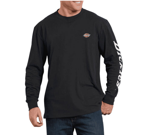 Dickies Heavyweight Long-Sleeve Graphic T-Shirt - Black
