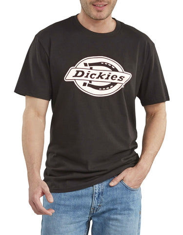 Dickies Short Sleeve Relaxed Fit Graphic T-Shirt WS46A - Black
