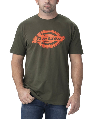 Dickies Short Sleeve Relaxed Fit Graphic T-Shirt WS46A - Green