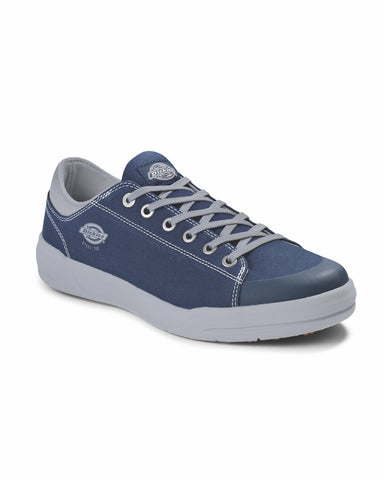 Dickies Supa Dupa Men's Low Steel Toe Athletic Shoe - Navy