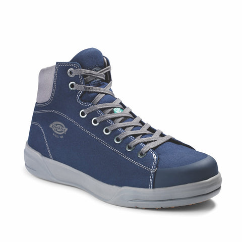 Dickies Supa Dupa Men's Mid Steel Toe Athletic Shoe - Navy