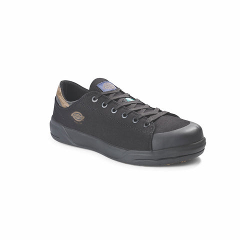 Dickies Supa Dupa Men's Low Steel Toe Athletic Shoe - Black/Camo