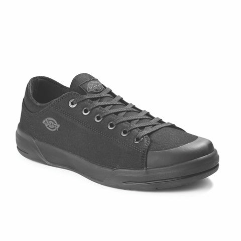 Dickies Supa Dupa Women's Low Steel Toe Athletic Shoe - Black