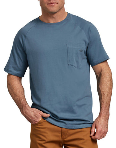 Dickies Men's Temp-iQ™ Performance Cooling T-Shirt - Blue