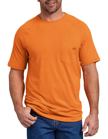 Dickies Men's Temp-iQ™ Performance Cooling T-Shirt - Orange