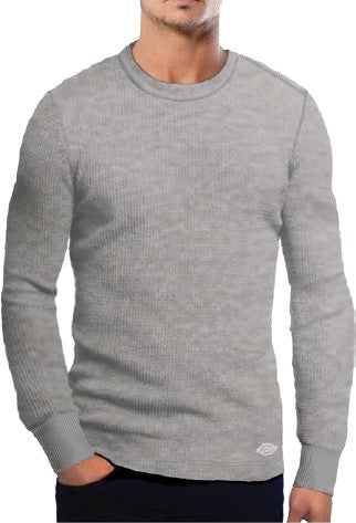 Dickies Men's Long Sleeve Thermal Top - Grey
