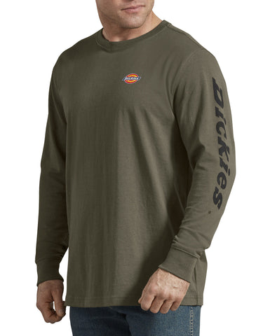 Dickies Heavyweight Long-Sleeve Graphic T-Shirt - Green