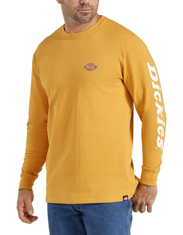 Dickies Heavyweight Long-Sleeve Graphic T-Shirt - Dijon