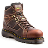 Dr. Martens Ironbridge SD Men's Steel Toe Work Boot - Brown
