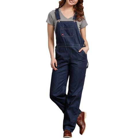 Dickies' Women's Denim Bib Overall