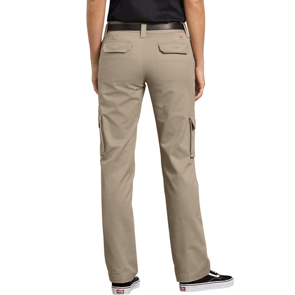 02dd3686b08 Dickies Stretch Cargo Women s Work Pant - Beige – Work Authority