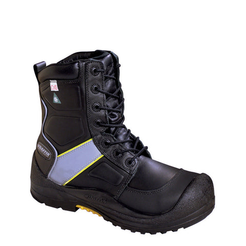 "Baffin 8"" Premium Worker Hi-Vis Winter Work Safety Boots with Composite Toe"