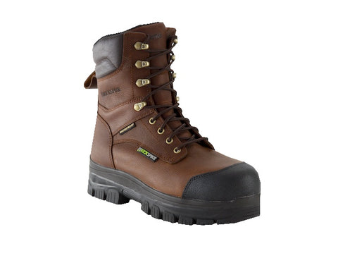 "KickSpike Rebel II Men's 8"" Composite Toe Work Boot - Brown"