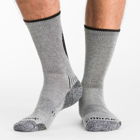 Men's Crew Cotton Blend Socks