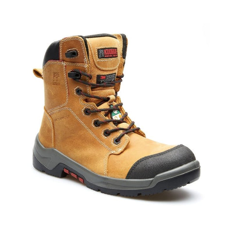 "Kodiak AXTON Men's 8"" Metal Free Composite Toe Work Boot - Tan"