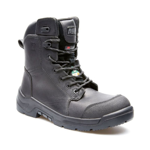 "Kodiak AXTON Men's 8"" Metal-Free Composite Toe Work Boot - Black"