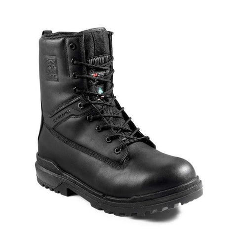 "Kodiak ProWorker MASTER Men's 8"" Composite Toe Work Boot with Side Zip - Black"