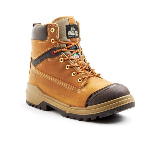 "ProWorker MASTER Men's 6"" Composite Toe Work Boot with bumper toe - tan"