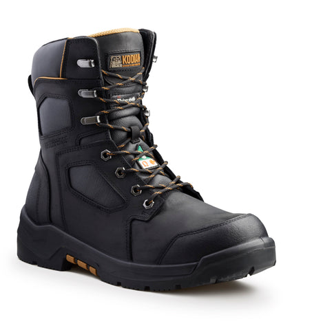 "Kodiak AXTON Men's 8"" Composite Toe Work Boot - Black"