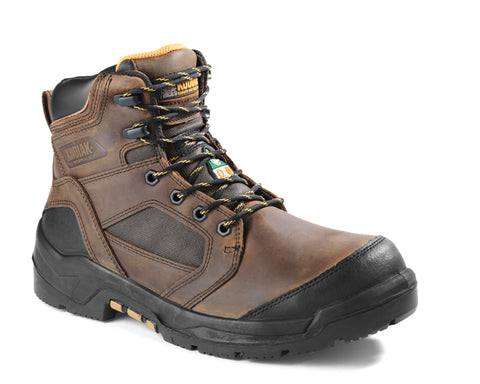 "Kodiak AXTON Men's 6"" Waterproof Composite Toe Work Boot - Brown"