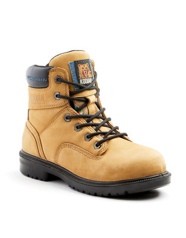 "Kodiak Blue Women's 6"" Aluminum Toe Work Boot"