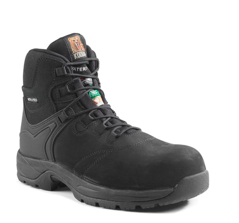 Kodiak Journey Men's Hiker Composite Toe Work Safety Boot - Black