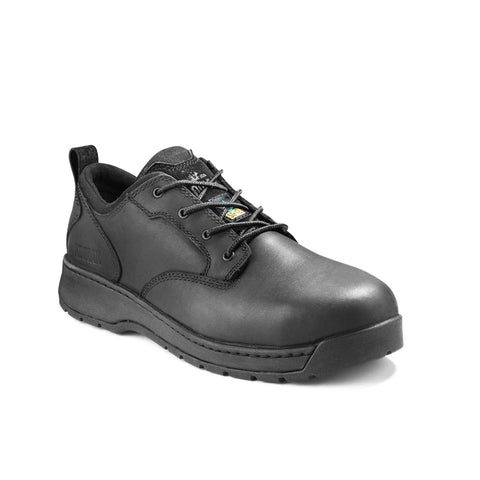 Kodiak Montario Men's Aluminum Toe Oxford Work Shoe - Black