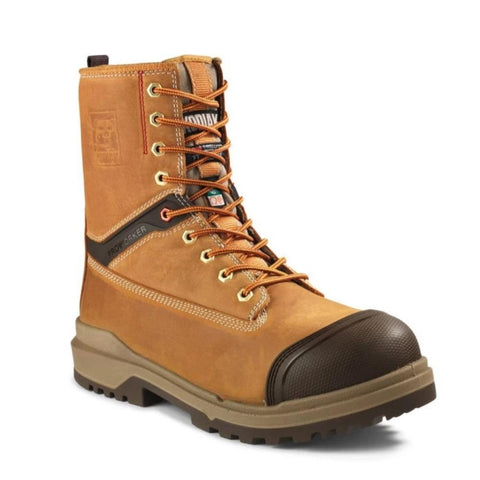 "Kodiak ProWorker MASTER Men's 8"" Composite Toe Work Boot with bumper toe - tan"