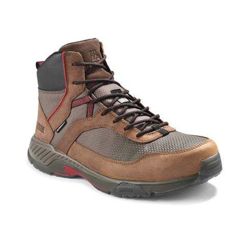 Kodiak MKT 1 Men's Hiker Composite Toe Work Safety Boot - Brown