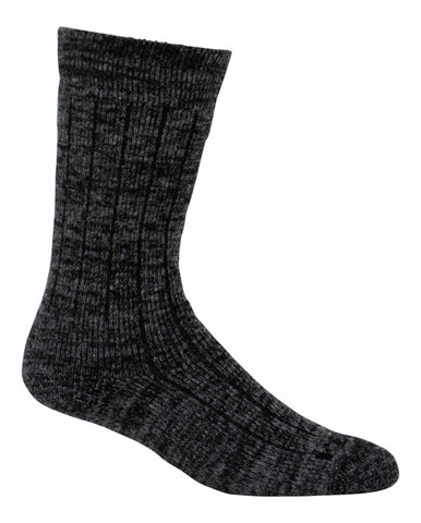 Kodiak Men's Merino Wool Blend Silk Work Socks - Charcoal