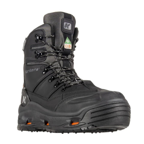 "Korkers Snowjack Pro Men's 9"" Composite Toe Winter Safety Boot"