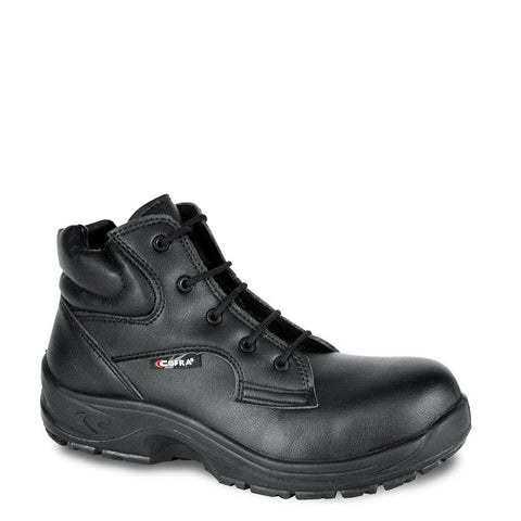 Boots Size 9 Cofra Black Leather Work Boots