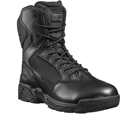 "Magnum Stealth Force 8"" Size Zipper Soft Toe Uniform Boots H5198"